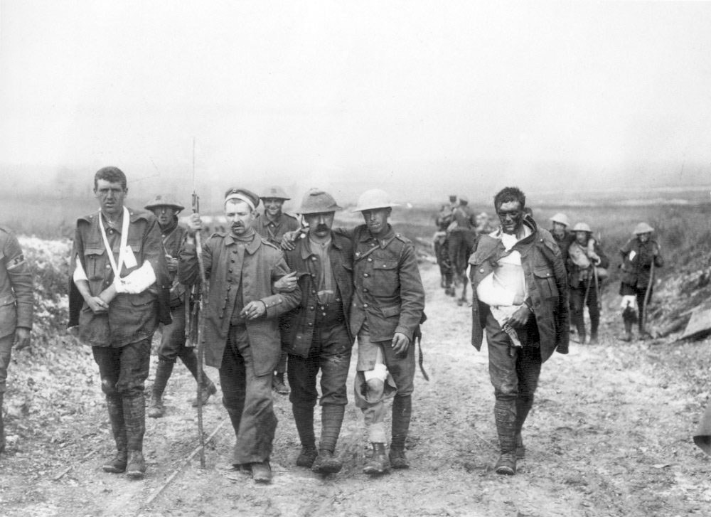 Pte Richard Wood from Chorley is 2nd from the right